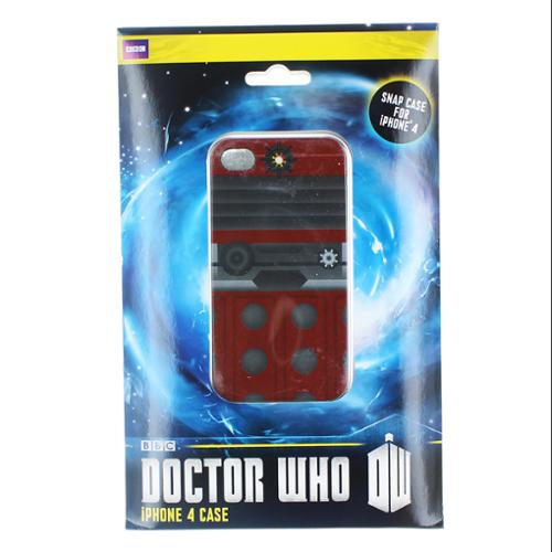 Doctor Who iPhone 4 Hard Snap Case I Am Dalek