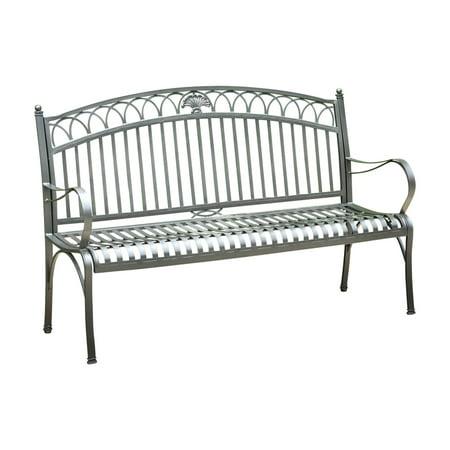 Admirable International Caravan Segovia 5 Ft Garden Bench Black Ncnpc Chair Design For Home Ncnpcorg