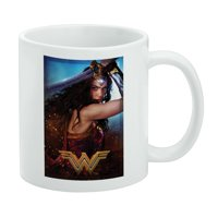 Wonder Woman Movie Battle White Mug