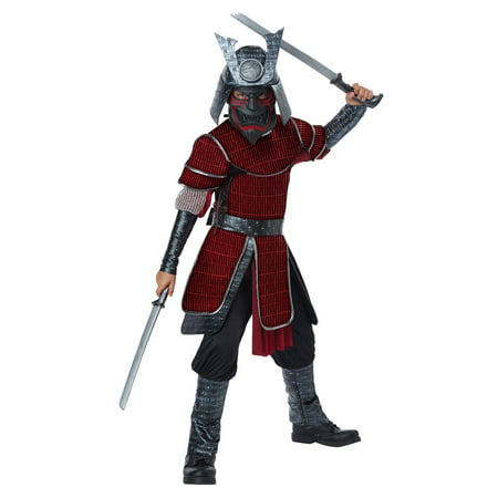 Deluxe Samurai Child's Costume - Samurai Warrior Halloween Costume