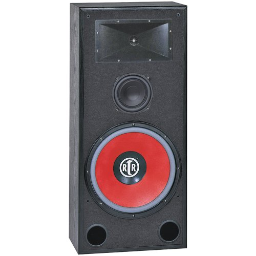 "BIC RtR-EV15 15"" 3-Way Bi-Ampable Floor Speaker with High-Efficiency Horn Tweeter"