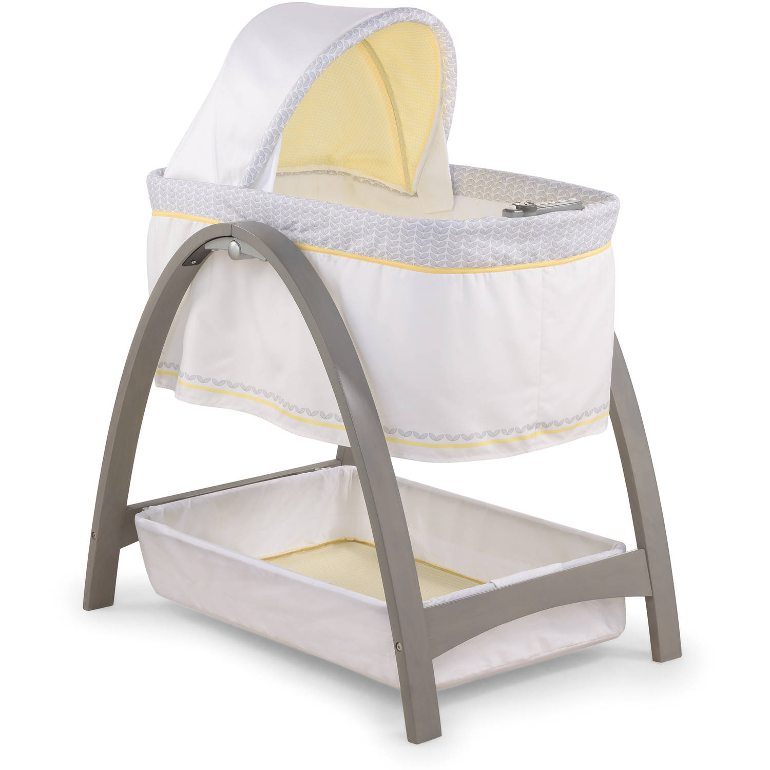 Summer Infant Products Bentwood Bassinet with Motion, Che...