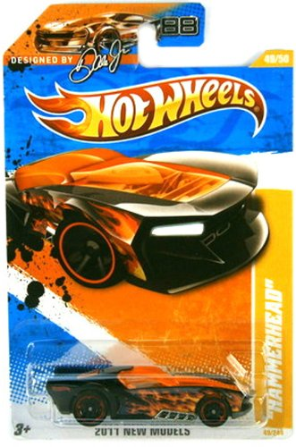 Hammerhead Race Car Designed By Dale Jr. 88 Hot Wheels 2011 New Models 1:64 Scale... by Mattel