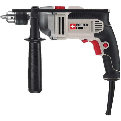 PORTER CABLE PCE141 7-Amp 1 2-Inch VSR Hammer Drill by Porter Cable