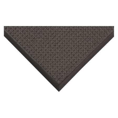 "CONDOR 8W121 Charcoal Entrance Mat 2 ft. W x 3 ft. L, 3/8"", Polypropylene"