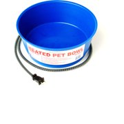 Farm Innovators Heated Pet Bowl, 1 Gallon, Blue