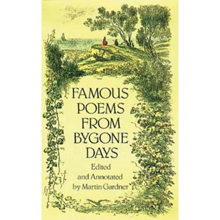 Famous Poems from Bygone Days - eBook (Famous Halloween Quotes Poems)