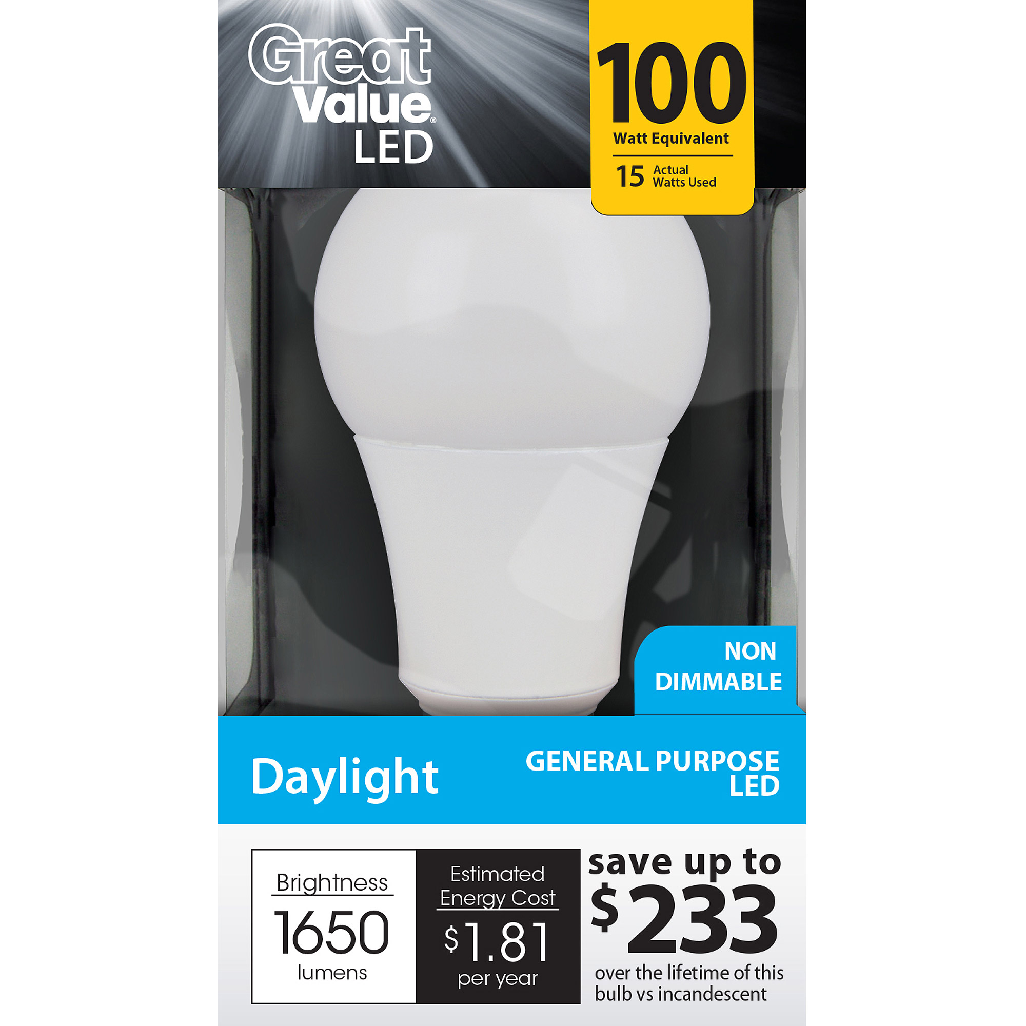General Electric Ge Cfl 26wt Dimmable Spiral - 3 Bulbs - Walmart.com:,Lighting
