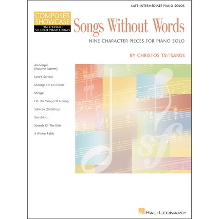 Hal Leonard Songs Without Words Late Intermediate Piano Solos composer Showcase Hal Leonard Student Piano Library by Chris - Chris Brown Halloween Song