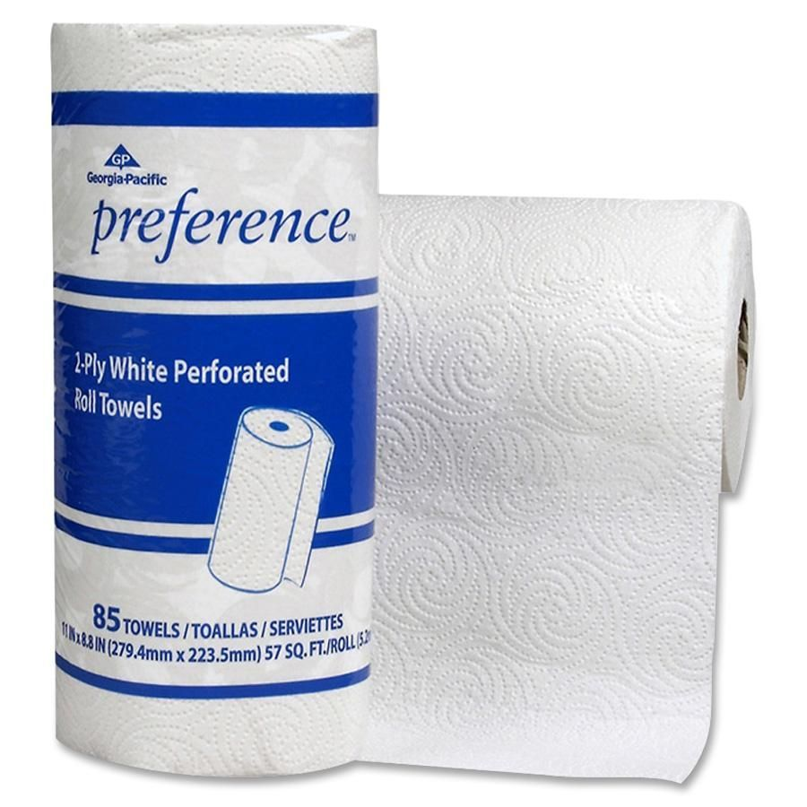 Georgia-Pacific, GPC27315, Preference Perforated Roll Towels, 15 / Carton, White