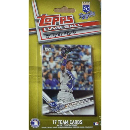 Kansas City Royals 2017 Topps Factory Sealed Special Edition 17 Card Team Set With Salvador Perez Eric Hosmer Lorenzo Cain Plus