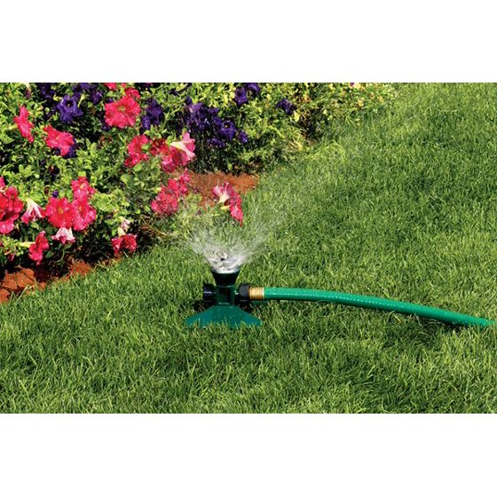 Orbit Cyclone Yard Watering Sprinkler for Garden Hose - Lawn ...