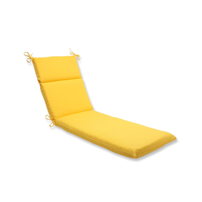 72 5 Chroma Citrus Yellow Outdoor Patio Chaise Lounge Cushion