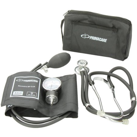 Primacare Professional Blood Pressure Kit  Includes Aneroid Sphygmomanometer And Sprague Rappaport Stethoscope
