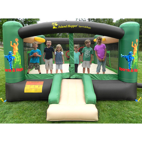 Island Hopper Sports n Hops Bounce house