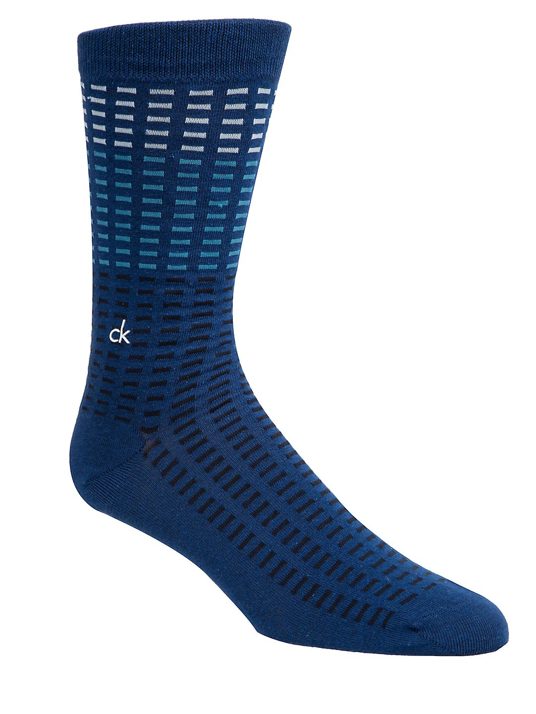 Tile-Print Casual Socks