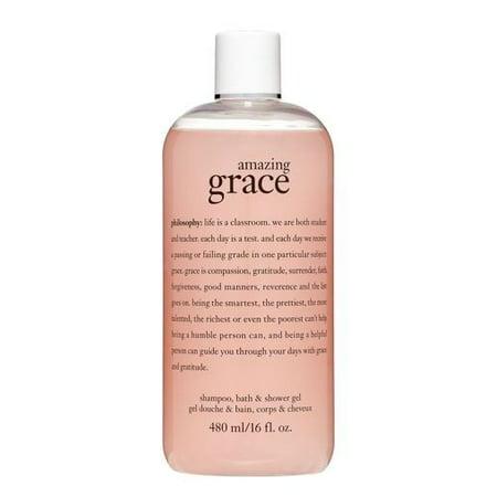 Philosophy Amazing Grace Shower Gel, 16 Oz (Philosophy Living Grace Shampoo Bath And Shower Gel)