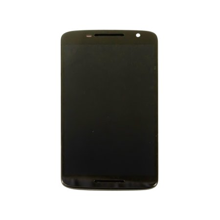 LCD Screen Display + Digitizer Touch with Frame Replacement Part Compatible with Motorola Moto X Play XT1561 XT1562 XT1563 - Black - image 1 de 1