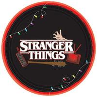 Stranger Things Large Paper Plates (8ct)*