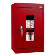 See-Thru Clearview Wall Cabinet in Red