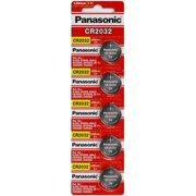 CR2032 Panasonic 5 Pack