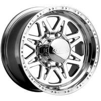 "16"" Inch Raceline 888 Renegade 8 16x8 8x170 +0mm Polished Wheel Rim"