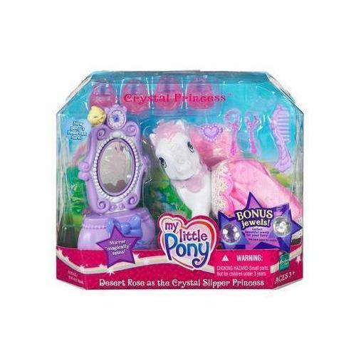 Desert Rose as the Crystal Slipper Princess Figure Set My Little Pony by