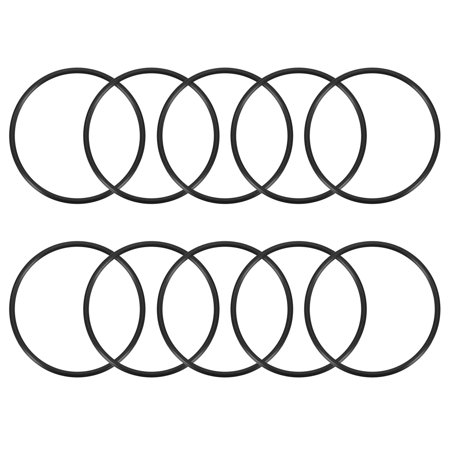 O-Rings Nitrile Rubber 47.2mm x 52mm x 2.4mm Seal Rings Sealing Gasket 10pcs 52 Mm Conversion Ring