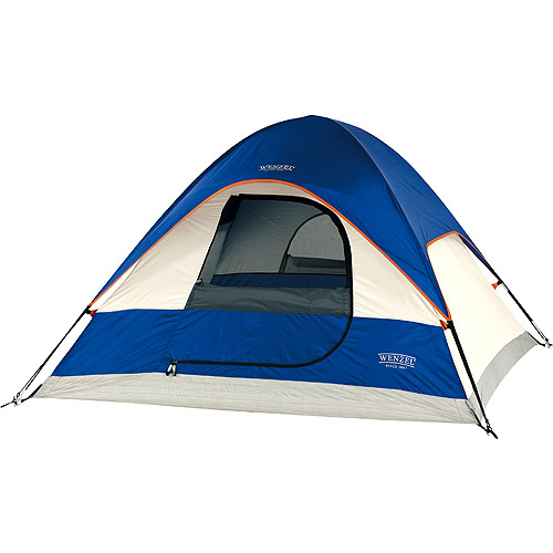 Wenzel Ridgeline Blue and Light Grey 3-Person Tent,7' x 7'