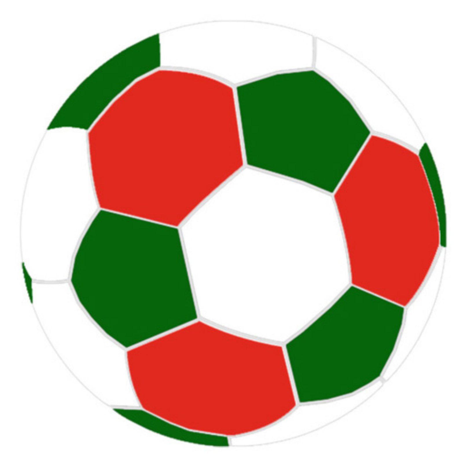 Turbo Beanbags Soccer Ball Large Multicolor Bean Bag Chair