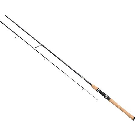 Daiwa Crossfire Freshwater Spinning Rod 6' Length, 2 Piece, 6-15 lb Line Rate, 1/8-3/4 oz Lure Rate, Medium (2 Piece Freshwater Spinning Rod)
