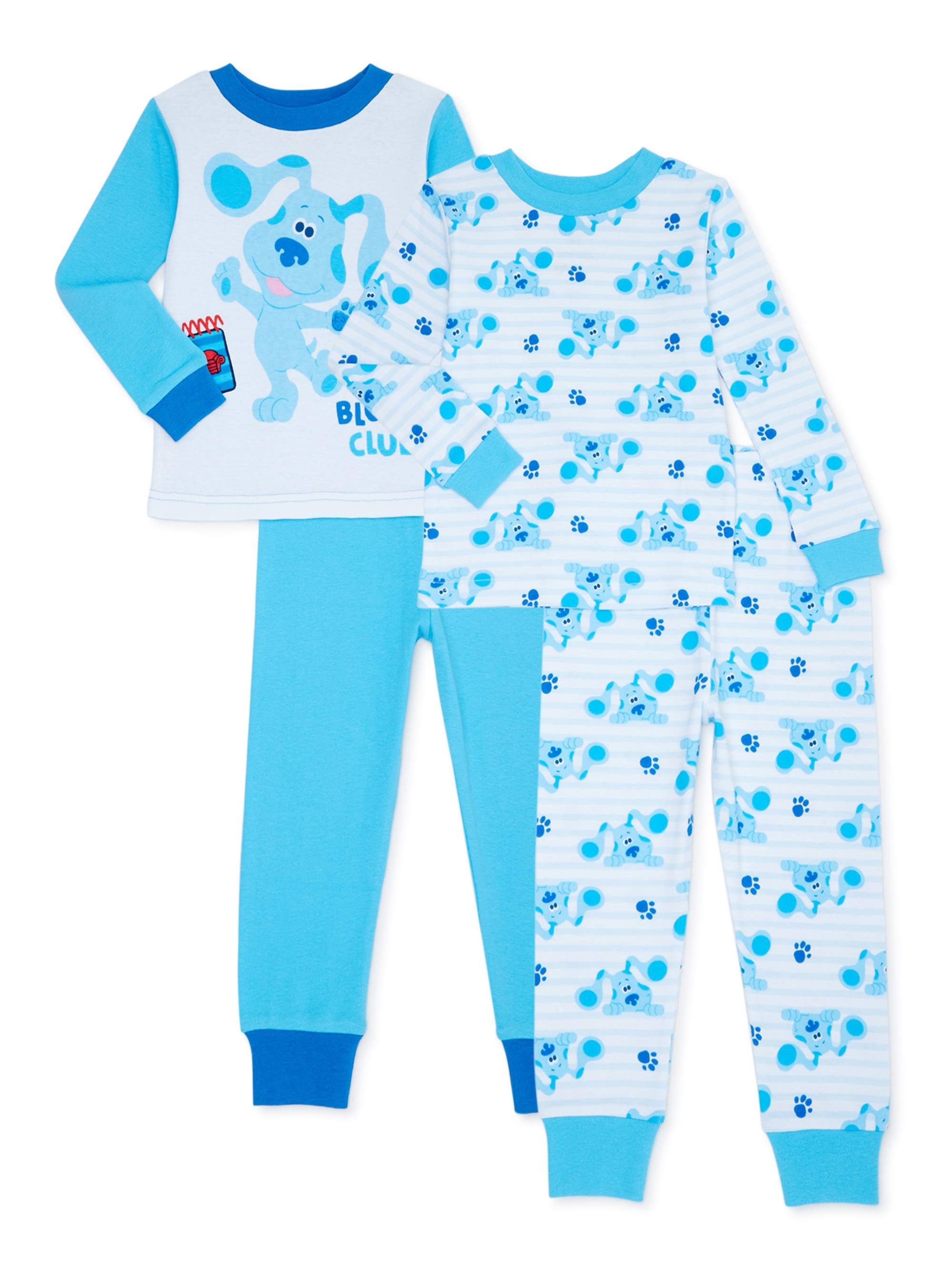 Nickelodeon Boys Blues Clues 4-Piece Pajama Set