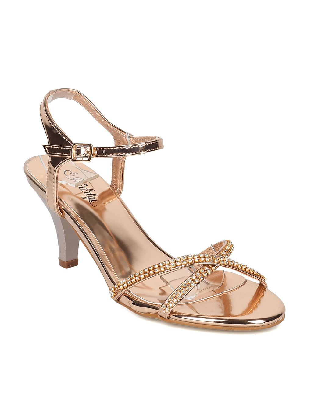 Gold Small Heels