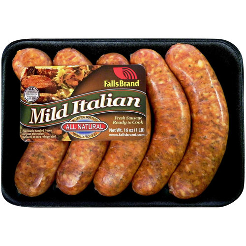 Falls Brand Mild Italian Sausage, 5 count, 16 oz
