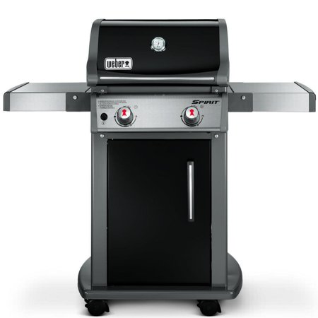 weber spirit e 210 2 burner lp gas grill black. Black Bedroom Furniture Sets. Home Design Ideas