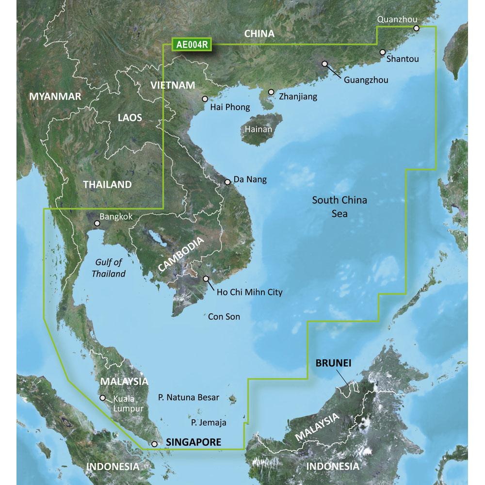 GARMIN VAE004R HONG KONG/SOUTH CHINA SEA G2 VISION SD