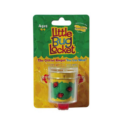 07370 Little Bug Locket w/3x Magnifier Multi-Colored