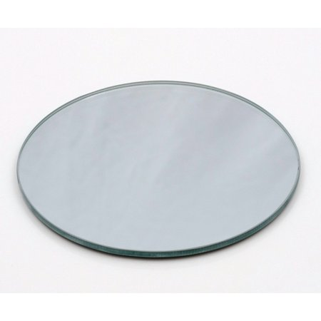 5 Round Mirror Plates Bulk Set Of