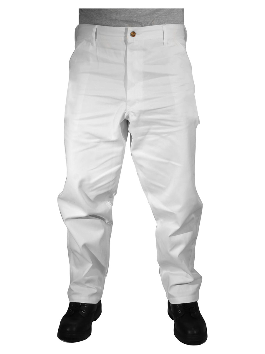 Rugged Blue Painters Pants - White - 50x34