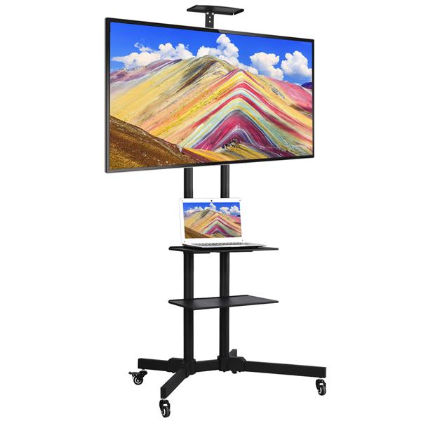 TV Mount Stands TV Mounts, Stands & Turntables Mobile TV Cart ...