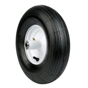 Arnold 6 in. Dia. x 14 in. Dia. 445 lb. capacity Centered Wheelbarrow Tire Rubber