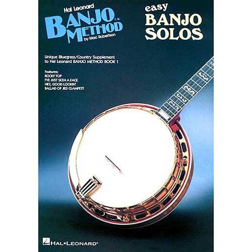 Hal Leonard Banjo Method: Easy Banjo Solos