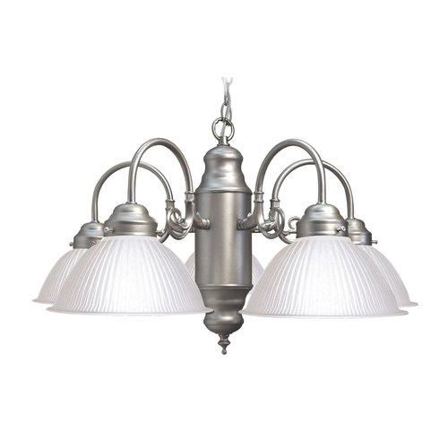 Woodbridge Lighting Basic 5 Light Chandelier