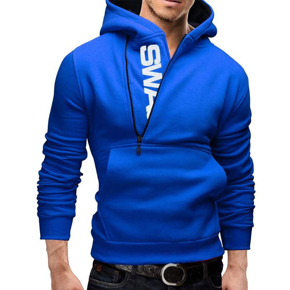 Details about  /Men Teenager Boy Autumn Hooded Long-Sleeves Sports Letters Hoodie Sweatershirt