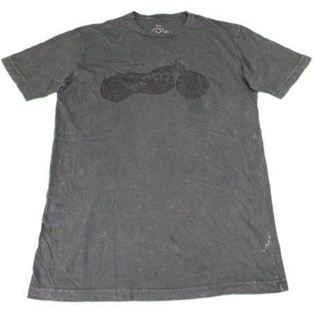 T.K. Axel Brand Men's Size Medium Short Sleeve Graphic T-Shirt, Black Oil ()