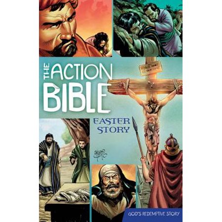 The Action Bible Easter Story - - Easter Bible Verses For Kids
