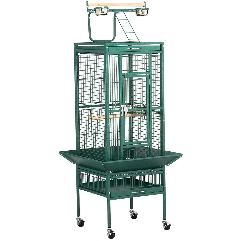 "Topeakmart 62"" Pet Bird Cage Play Top Parrot Cockatiel Cockatoo Parakeet Finches"