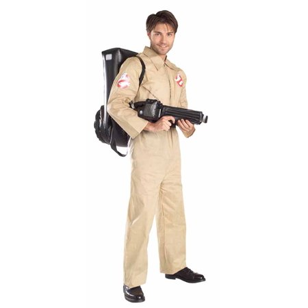 Ghostbuster 1980s Mens Standard Costume (1980's Costumes For Men)