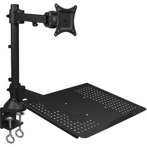 SIIG Full Motion Articulating Monitor and Laptop Desk Mount by Siig