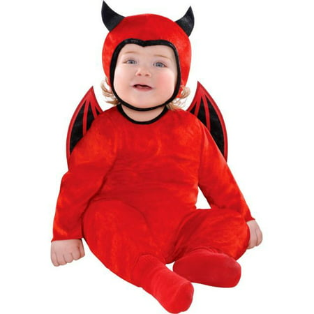 Cute as a Devil Halloween Costume (0-6 months)](Cute Easy Hairstyles For Halloween)